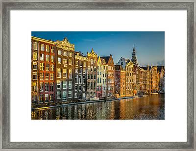 Amsterdam Framed Print by Neah Falco