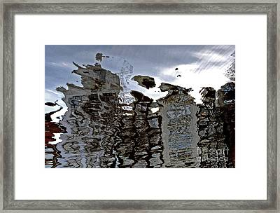 Framed Print featuring the photograph Amsterdam Reflections 2 by Andy Prendy