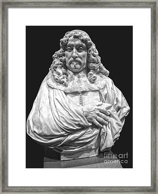 Amsterdam Rijksmuseum Classic Bust - 09 Framed Print by Gregory Dyer