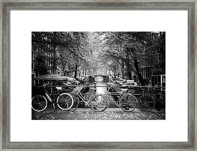 Amsterdam  Framed Print by Ryan Wyckoff