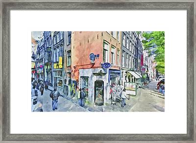 Amsterdam Streets 3 Framed Print by Yury Malkov