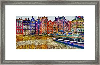 Amsterdam Today 2 Framed Print