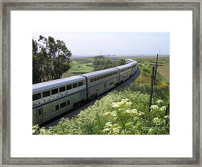 Coast Starlight At Dolan Road Framed Print