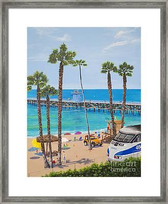 Perfect Beach Day Framed Print