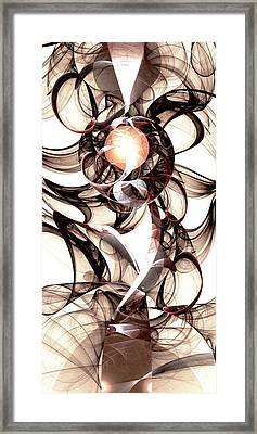 Amulet Of Chaos Framed Print