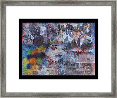 Framed Print featuring the digital art Amuse by Kelly McManus