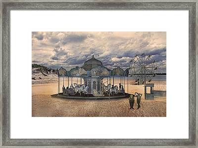 Amusement  Framed Print by Betsy Knapp