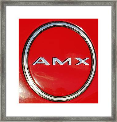AMX Framed Print