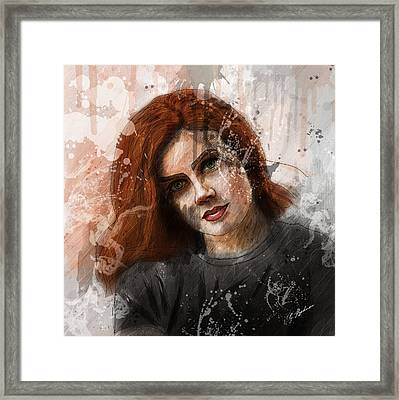 Amy Adams Framed Print