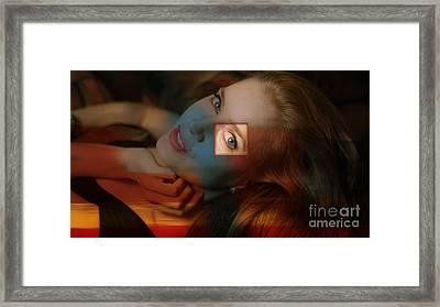 Amy Adams Framed Print by Marvin Blaine