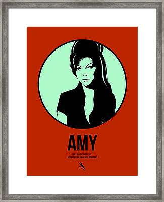 Amy Poster 1 Framed Print