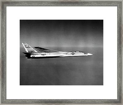 An A3j Vigilante Aircraft  In Flight Framed Print