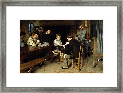 An Accident Framed Print by Pascal Adolphe Jean Dagnan Bouveret