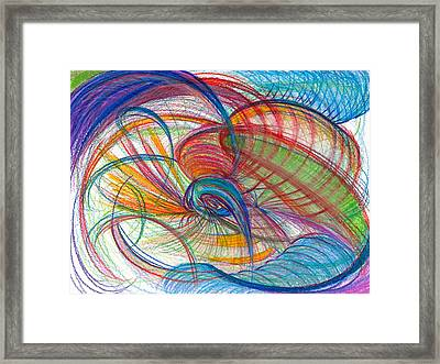 An Affair Of Energy Framed Print