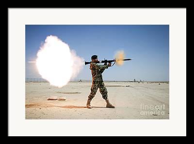 Rocket-propelled Grenades Framed Prints