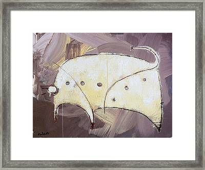 An Allegory Of Things Unknown  11 Framed Print by Mark M  Mellon
