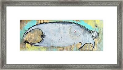 An Allegory Of Things Unknown 2 Framed Print by Mark M  Mellon
