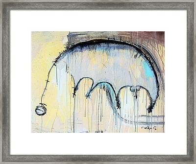An Allegory Of Things Unknown 8 Framed Print by Mark M  Mellon