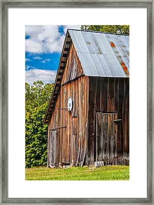 An American Barn Framed Print by Steve Harrington