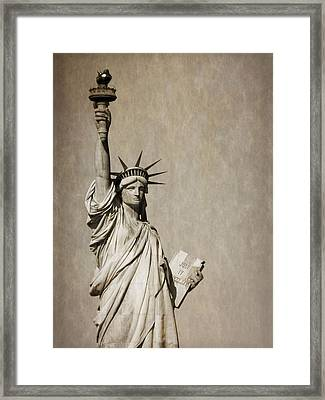 An American Icon Framed Print by Dan Sproul