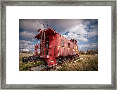 An American Icon Framed Print by Linda Unger
