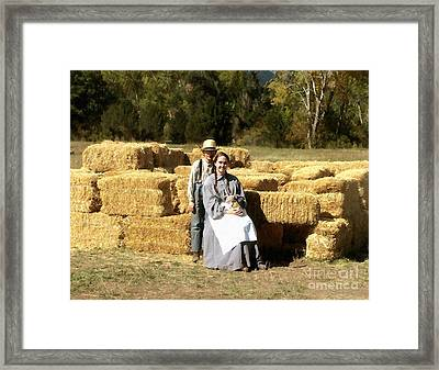 Framed Print featuring the digital art An American Portrait by Cristophers Dream Artistry