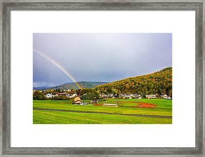 An American Rainbow 2 Framed Print