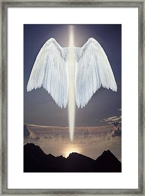 An Angel Of Light Framed Print by Jim Zuckerman