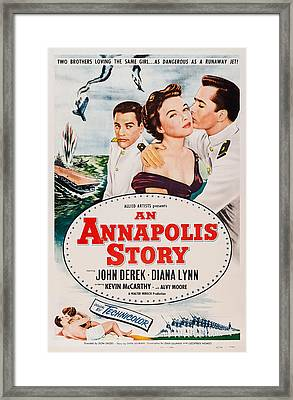 An Annapolis Story, Us Poster, Top Framed Print