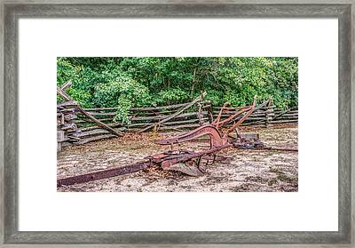An Antique Till Framed Print by Rob Sellers