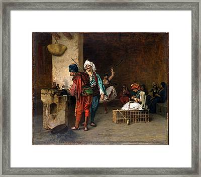 An Arab Archway  Framed Print by Celestial Images