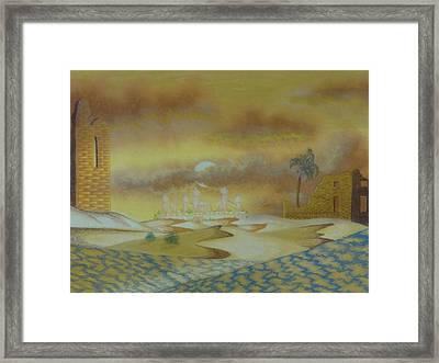 An Arab Dominion Framed Print