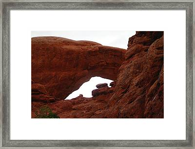 An  Arch  Framed Print by Jeff Swan