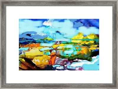 An Arctic Sunset Framed Print by Robert Stagemyer