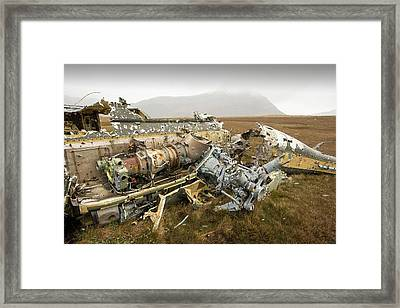 An Argentinian Puma Helicopter Framed Print by Ashley Cooper