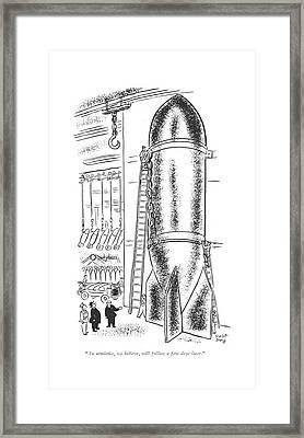An Armistice Framed Print