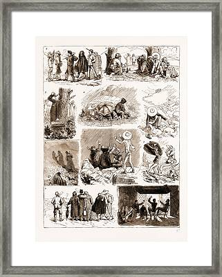An Ascent Of Ben Macdhui, 1883 1. We Arose Punctually Framed Print by Litz Collection