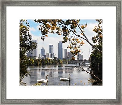 Austin Autumn Framed Print