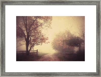 An Autumn Day Forever Framed Print