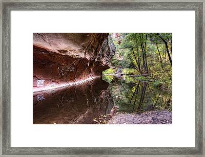 An Autumn Day In West Fork  Framed Print
