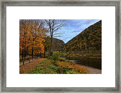 An Autumn Day Framed Print by Lanis Rossi