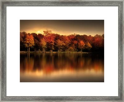 An Autumn Evening Framed Print