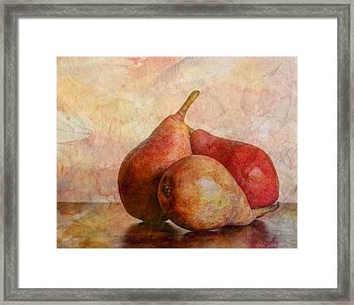 An Autumn Harvest Framed Print by Heidi Smith