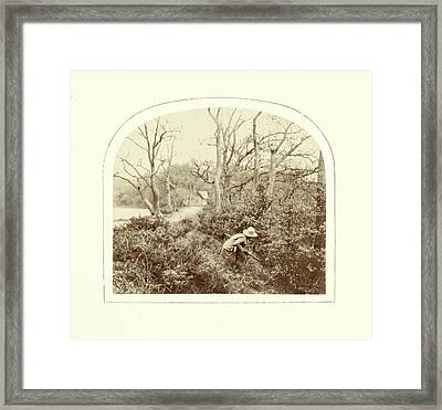 An Autumn Landscape, William Morris Grundy Framed Print by Artokoloro