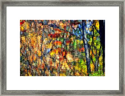 An Autumnal Rainbow Framed Print by Frozen in Time Fine Art Photography