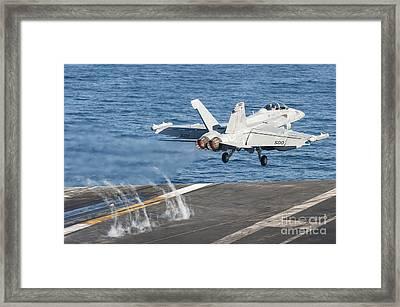 An Ea-18g Growler Launches Framed Print