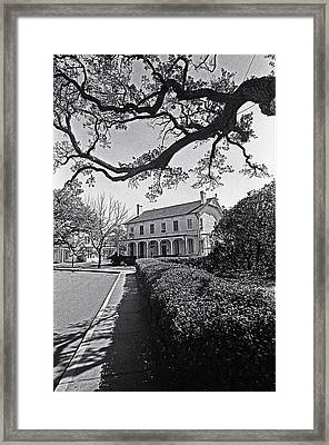 An Early American Home Framed Print by Thomas D McManus