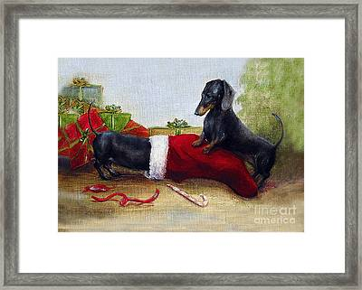 An Early Christmas Framed Print by Stella Violano