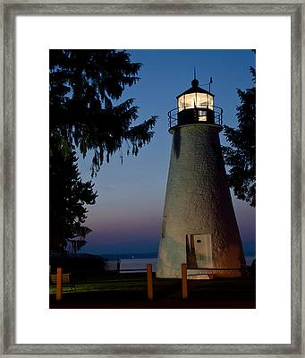 Framed Print featuring the photograph An Early Morning Light by Gary Wightman