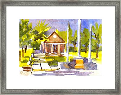An Early Summers Morning Framed Print